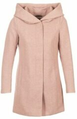 Roze Only Onlsedona Light Coat Otw Noos 15142911 Mocha Mousse/melange