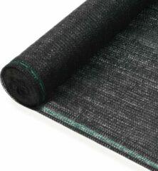 VidaXL Tennisnet 2x25 m HDPE zwart