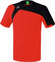 Rode Erima Club 1900 2.0 T-shirt Senior Sportshirt - Maat M - Mannen - rood/zwart