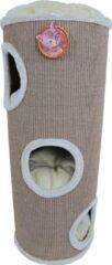 De Boon - Katten Klimton Sisal 3-Gaats - 100cm - Taupe/Beige