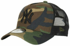Groene Pet New-Era CLEAN TRUCKER NEW YORK YANKEES