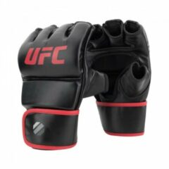 UFC Contender MMA Handschoenen Met Duim Zwart/Rood 6oz - L/XL