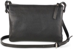 Markberg Vera Crossbody Bag Grain Crossbodytassen Zwart
