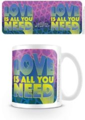 Merkloos / Sans marque LENNON & MCCARTNEY - Mug - 315 ml - Love Is All You Need