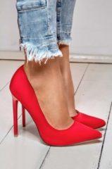 Rosso Alx Trend Decolletè con tacco alto in vernice Giuly Rosse