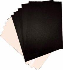 Witte Quantore Grote vellen XL Knutselkarton - Surprisekarton - Hobbykarton - Fotokarton - 50x70 cm - 10 grote gekleurde vellen - Gratis Verzonden
