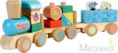 Rubo Toys Woezel en Pip Houten Trein