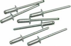 Grijze ABC-Led Popnagels - 12.7x3.2mm - 50 stuks