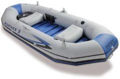 Grijze Intex Opblaasboot Mariner 3 297x127x46 cm 68373NP