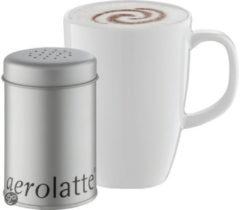 Witte Aerolatte Cacaostrooier Aerolatte