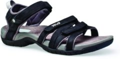 Teva - Women's Tirra Leather - Sandalen maat 9, zwart