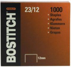 Bostitch nietjes 23-12-1M, 12 mm, verzinkt, voor B310HDS, 00540, HD-23L17, HD-12F