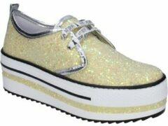 Nette schoenen Patrizia Pepe Sneakers glitter geel BR630