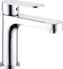SanitairZone Aloni Verhoogde Wastafelkraan Met Waterbesparing Chroom