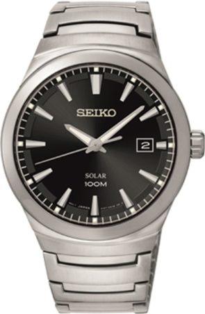 Afbeelding van Zilveren Seiko SNE291P1 horloge heren - zilver - edelstaal