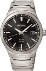 Zilveren Seiko SNE291P1 horloge heren - zilver - edelstaal