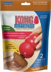 Kong marathon peanut butter 6,5x6,5x5,5 cm 2 st