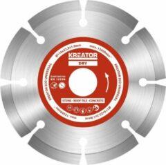 Kreator KRT080100 Set Diamantschijven - Ø115 mm - Eco Universeel - 3 stuks
