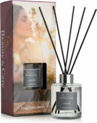 Beauty & Care Lavendel geurstokjes - 150 ml