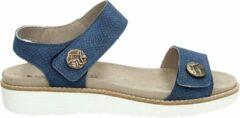 Blauwe Nelson dames sandaal - Blue - Maat 40