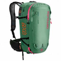 Ortovox - Ascent 38 Avabag Kit - Lawinerugzak maat 38 l - S, olijfgroen/groen/zwart/turkoois