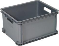 Zilveren Curver Classic Unibox Opbergbox - Maat L - 30 liter - Grijs