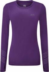 Paarse Dhb Aeron FLT Womens Long Sleeve Run Top - Hardloopshirts (lange mouwen)