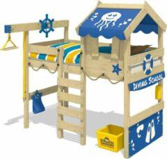 Blauwe Kinderbed WICKEY CrAzY Jelly Hoogslaper