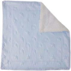 Softtouch Soft Touch Knuffeldoekje Sterren 34 X 34 Cm Blauw