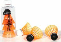 Oranje VICTOR speed badminton shuttles | 2 shock en 1 shock XL