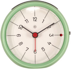 NeXtime Alarmklok nXt Otto Ø 9,5 x 3.8 cm groen
