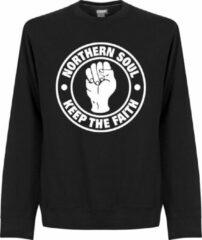 Retake Northern Soul Sweater - Zwart - 3XL