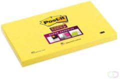 Memoblok 3M Post-it 655-S Super Sticky 76x127mm ultra geel