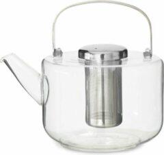 Viva Scandinavia - Koffie & Thee Bjorn Theepot - Glas - Incl Filter - 1,2 liter - Transparant