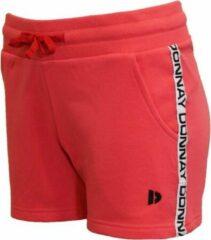 Koraalrode Donnay Joggingshort kort - Sportshort - Liz - Dames - Koraal rood - Maat XXL