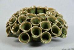 Daan Kromhout Design Waxinelichthouder Scabiosa groen 13 x 6 cm