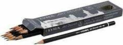 Arp design Art Design tekenpotloden, d: 6,9 mm, vulling: 1,8 mm, , Hardheid HB , 12stuks