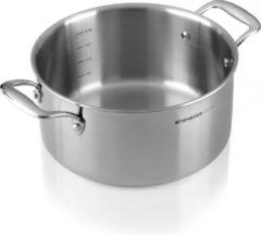 Roestvrijstalen Mehrzer - Braadpan - diameter 24 cm - 4.4 liter