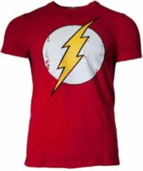 Rode DC Comics Flash Shirt – Logo Maat M