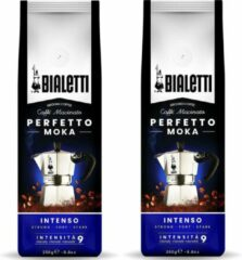 Bialetti Perfetto Moka Intenso gemalen koffie - 2 x 250 gram