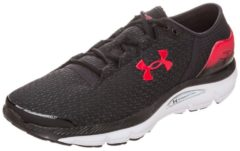 SpeedForm Intake 2 Laufschuh Herren Under Armour black / red