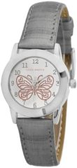 Coolwatch by Prisma CW.186 Kinderhorloge Butterfly staal/leder grijs 26,5 mm