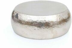 Perfecthomeshop Salontafel zilver rond 29x83 cm – Eigentijds Design – Duurzaam