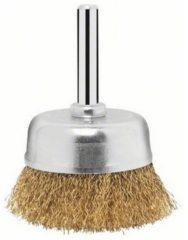 Bosch Topfbürste für Bohrmaschinen, DIY, gewellt, vermes singt, 50 mm, 0,2 mm, 4500 U VPE: 2
