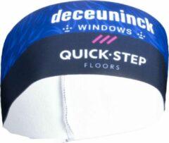 Blauwe Vermarc Fietskleding Deceuninck-Quick Step Haarband X21
