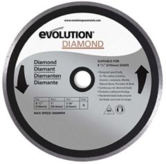 Evolution multifunctionele TCT zaagblad FURY255 255mm x 28mm