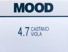Paarse MOOD Hair Color 4.7 Violet Brown (3*tubes)