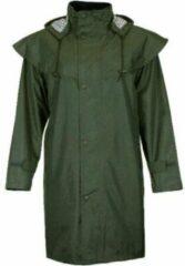 JC Blue Kapton Regenjas - Donker Groene regenjas - Dames Regenjas Maat XL