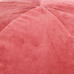 VidaXL Poef 50x35 cm katoenfluweel roze