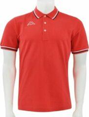 Rode Kappa Logo Maltax 5 MSS Heren Poloshirt L